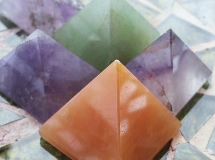 Assorted Gemstone Pyramids
