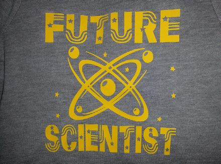 Child's 'Future Scientist' Longsleeve T Shirt