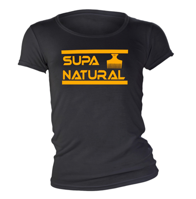 Supa Natural Fitted T shirt