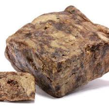 Raw African Black Soap 100g