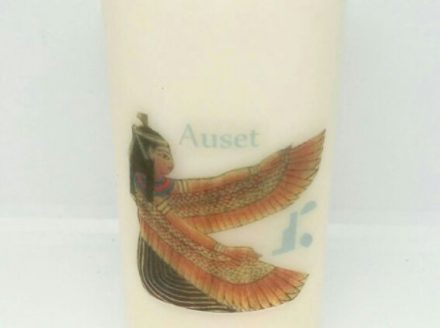Auset/Isis Sacred Wombman Candle