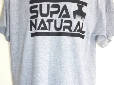 'Supa Naturals' Mens T-Shirt by Supa Naturals