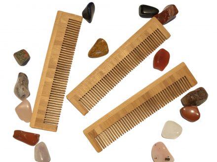 Bamboo Beard Comb